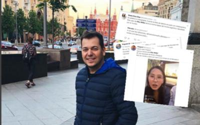 Indignación colectiva, hasta Menchi repudió la acción de Pitu Willis en Rusia