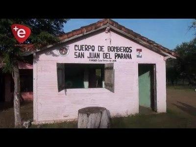 CUARTEL PARA BOMBEROS: EN SAN JUAN DEL PNA. GESTIONAN RECURSOS CON EL MUNICIPIO