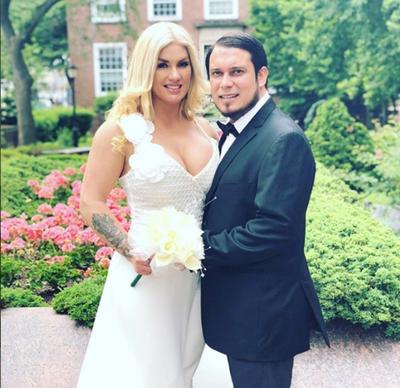 Lilian Ruiz se casó en los Estados Unidos