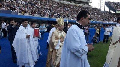 Se inicia la misa de beatificación