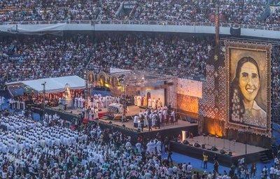 Imponente ceremonia de beatificación de Chiquitunga