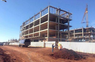 Prosigue construcción de sede judicial en CDE