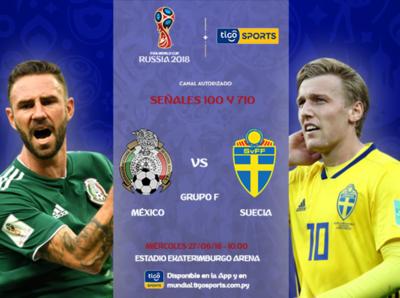 México quiere ganar el grupo, Suecia avanzar