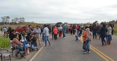 Concepción: Cierran ruta exigiendo camino de todo tiempo
