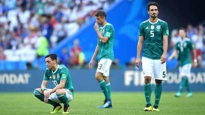 El día mas triste para Alemania: Corea del Sur lo elimina y México festeja