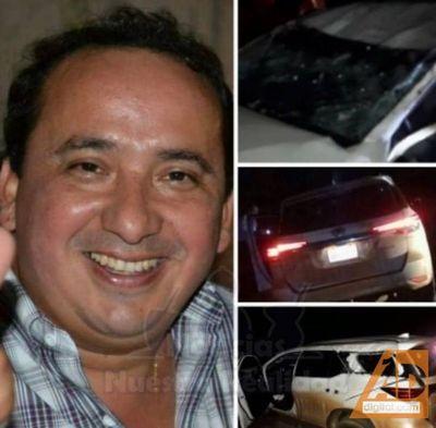 Cambista Pedrojuanino fue asaltado y baleado en Alto Paraná