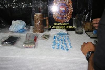 Detienen a delivery de cocaína en Barrio Obrero