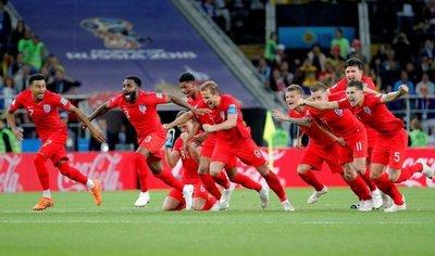 Inglaterra elimina a Colombia en penales y avanza a cuartos
