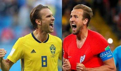 Suecia e Inglaterra buscan el sendero hacia la gloria