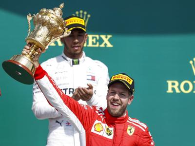 Vettel ganó el GP de Gran Bretaña