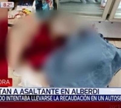 Menor mata a delincuente tras intento de asalto