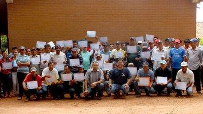 Indert entregará adjudicaciones a familias de Guairá y Cordillera