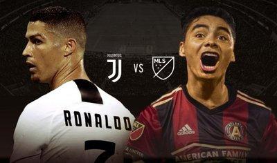 Cristiano Ronaldo enfrentará a las estrellas de Miguel Almirón