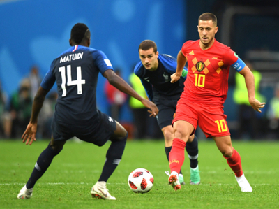 """""""Mejor eliminado que..."""", lo que dijo Hazard de Les Bleus"""
