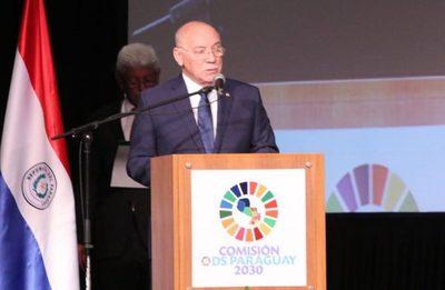 Cancillería e Itaipú suscriben cooperación para agenda 2030
