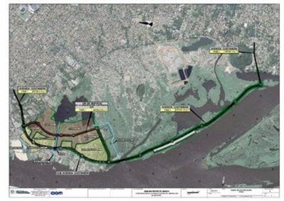 Proyecto Costanera Sur tropieza con graves problemas sociales