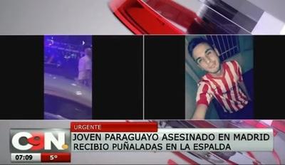 Joven paraguayo es asesinado en Madrid