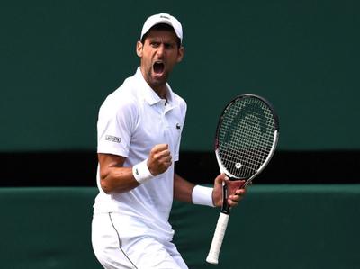 Djokovic venció a Nishikori y está en semis de Wimbledon