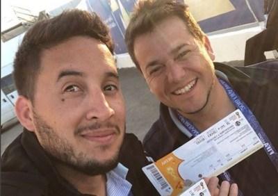 Pitu Willis y César pidieron perdón por el papelón en Rusia