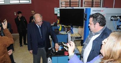 Se inauguró Laboratorio de Mecatrónica en Hernandarias