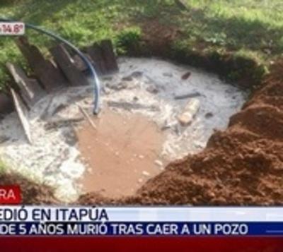 Niño cae a pozo con agua y muere en Itapúa
