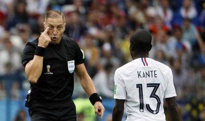 El argentino Pitana dirigirá la final Francia-Croacia