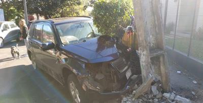 VIDEO: Adelantamiento indebido causó accidente