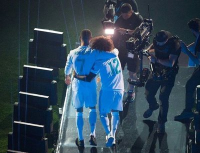Marcelo despide a Cristiano, su gran amigo