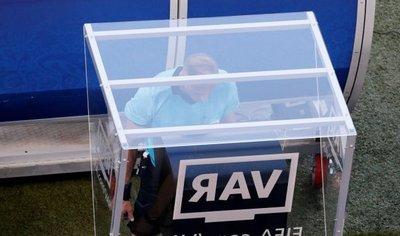 Infantino alaba el uso del VAR  en el Mundial de Rusia