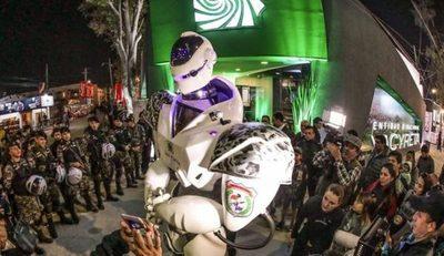 Robot Lince, gran atractivo en la Expo 2018