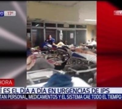 """El día a día para los enfermos en IPS: """"Es una zona de guerra"""""""