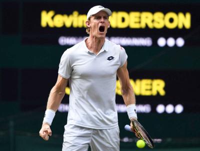 Anderson avanza a la final de Wimbledon