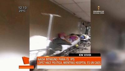 En IPS se acelera la muerte del paciente, según médico