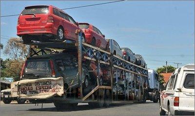 """Diputado busca prohibir importación de vehículos usados """"chileré"""" con más de 7 años de uso"""