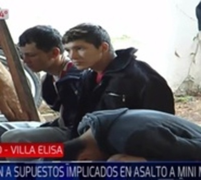 A tiros desbaratan peligrosa banda de atracadores en Villa Elisa