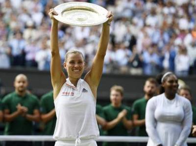 Angelique Kerber gana Wimbledon por vez primera