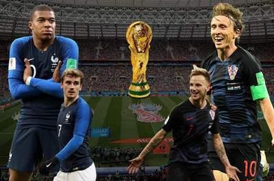 Francia y Croacia definen mañana el Mundial Rusia 2018