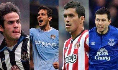 Los futbolistas paraguayos que pasaron por la Premier League
