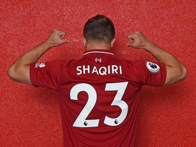 Xherdan Shaqiri es nuevo refuerzo del Liverpool
