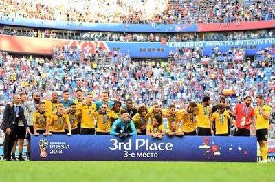 Bélgica sube al podio con elegancia