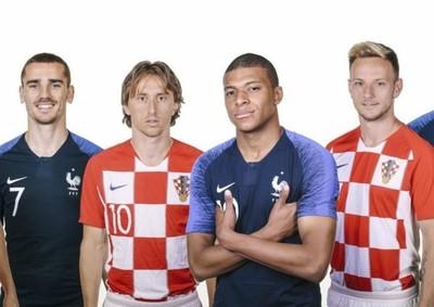 Francia y Croacia en busca de la Copa Mundial