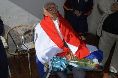 Muere último veterano de la Guerra del Chaco de Ypacaraí
