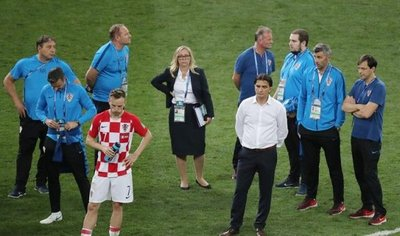 Lo que dijo el técnico croata sobre el arbitraje de Néstor Pitana