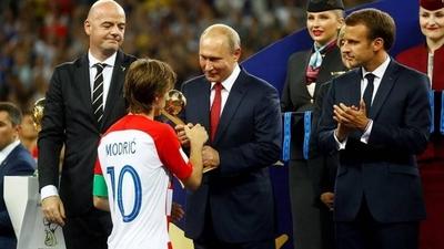 "HOY / Modric: ""Me hubiese gustado más ganar este Mundial"""
