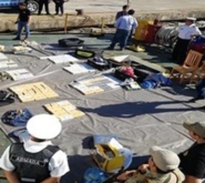 Decomisan más de 150 kilos de cocaína en Puerto de Asunción