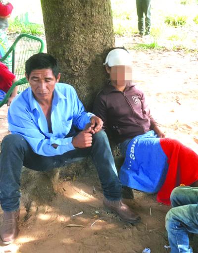 Niña hechizada mantiene en zozobra a aldea indígena