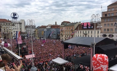 HOY / Croacia festeja hasta la madrugada