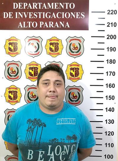 Presunto marginal detenido por transgredir medidas alternativas