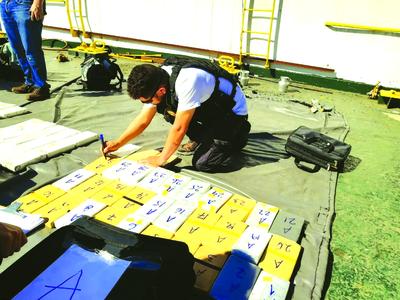 Senad incauta 145 paquetes de cocaína en Puerto de Asunción