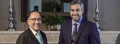 Marito se reunió con embajador de Panamá